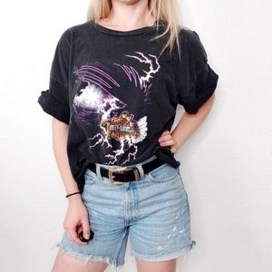 Harley-Davidson Las Vegas Eagle Cropped T Shirt